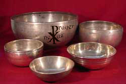 "Now, if I had my way, I would only use an original, antique, Himalayan singing bowl from Tibet to help me mark my time spent communing with God. Historically, these singing bowls were used by Buddhist monks as a signal to begin and end periods of silent meditation. But I've used them often over the years during my time practicing centering prayer and use with the World Community for Christian Meditation. There is simply something divinely inspiring, even mystical about the ""spiritual songs"" and ""good vibes"" these bowls generate."